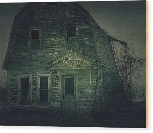 Haunting Wood Print by Scott Hovind