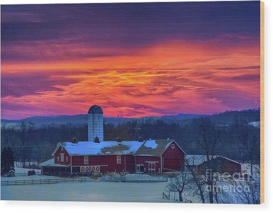 Havendale Farm Wood Print