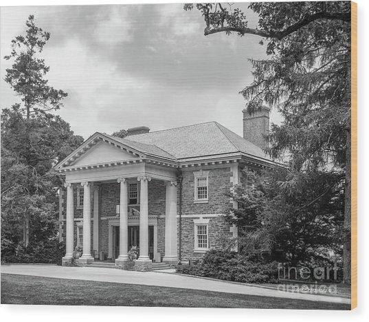 Haverford College Roberts Hall Wood Print