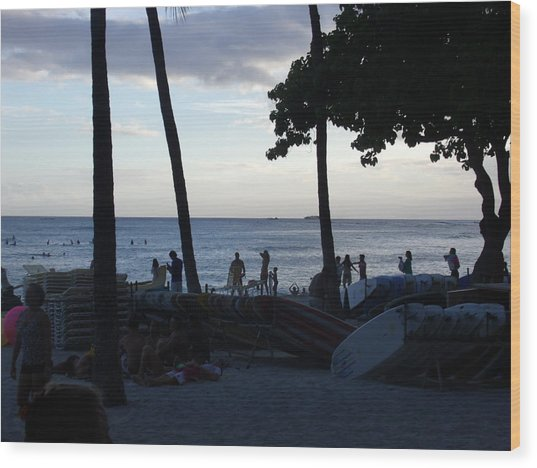 Hawaiian Afternoon Wood Print