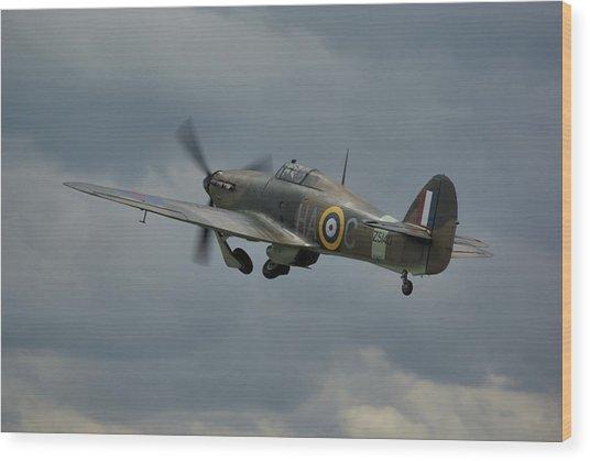 Hawker Hurricane Mk Xii  Wood Print