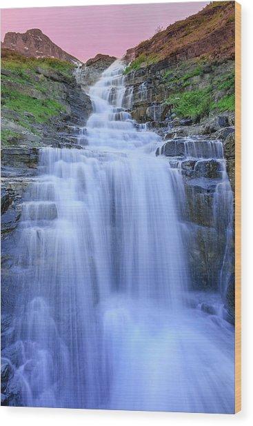Haystack Creek Wood Print