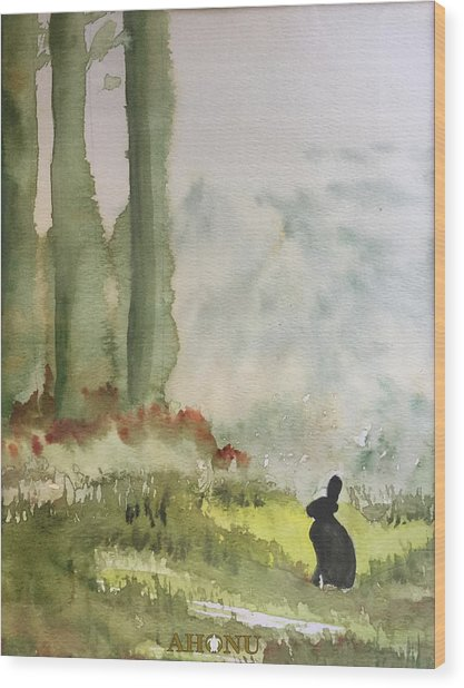 Hazel-rah Wood Print