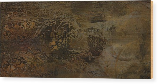 Heart Of The Prosperous Wood Print