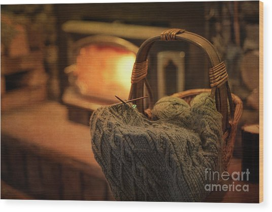 Hearth And Home Wood Print