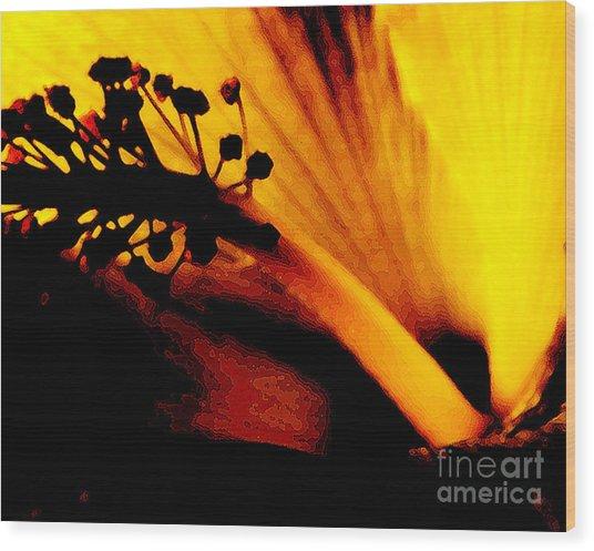 Heat Wood Print