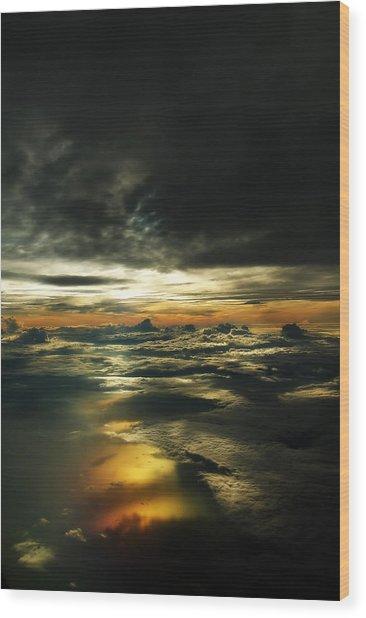 Heaven Wood Print by Mandy Wiltse