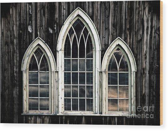 Heaven's Reflection Wood Print