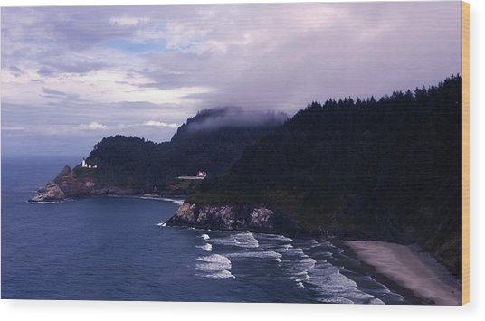 Heceta Head Lighthouse, Oregon Wood Print