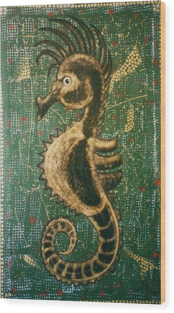 Hehorse Wood Print