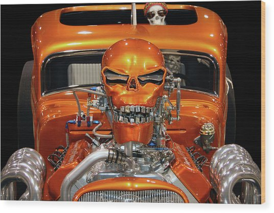 Hell Bent Hemi Wood Print