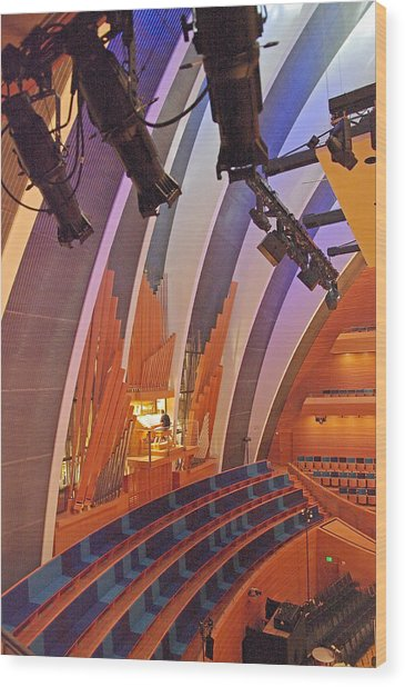 Helzberg Hall #3 Wood Print