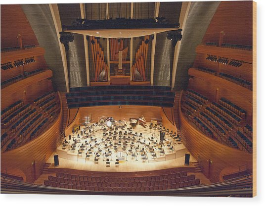 Helzberg Hall Wood Print