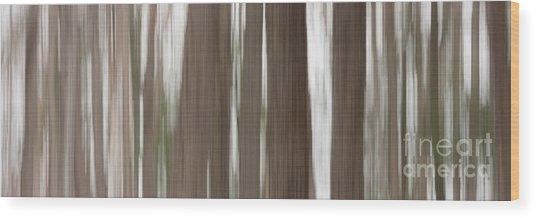 Hemlock Grove Wood Print