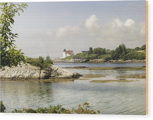 Hendricks Head Lighthouse Wood Print