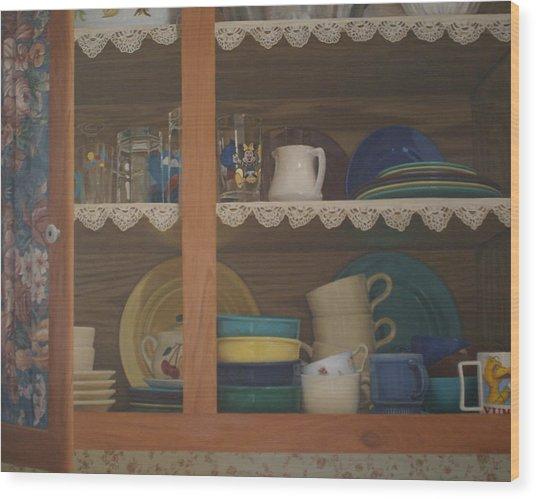Henrietta's Cupboard Wood Print