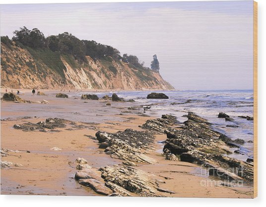 Henry's Beach Wood Print