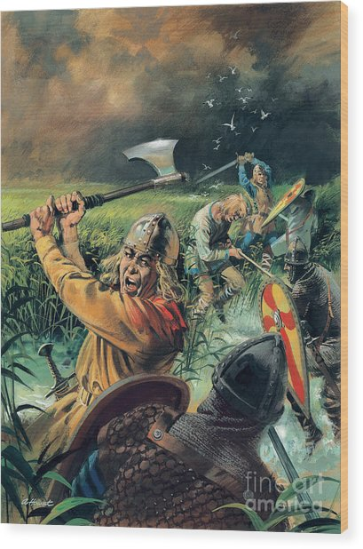 Hereward The Wake Wood Print