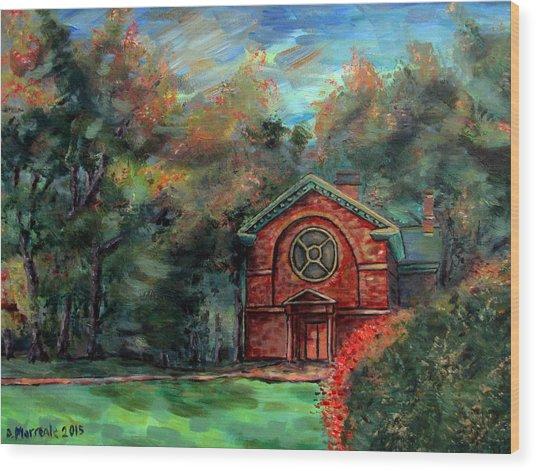 Herring Cole In Early September Wood Print