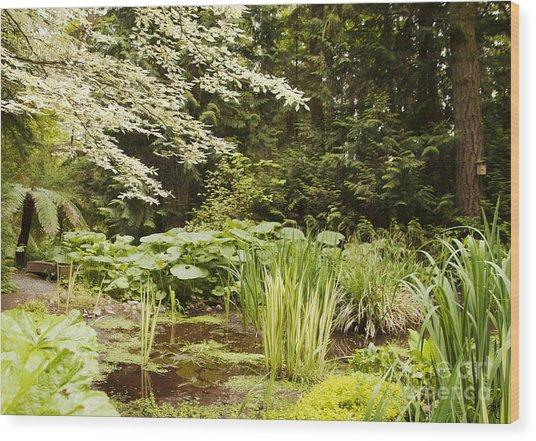 Herronswood Wetlands Wood Print