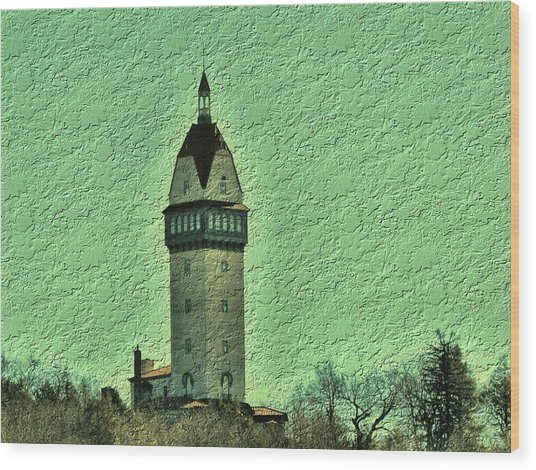 Heublein Tower Wood Print