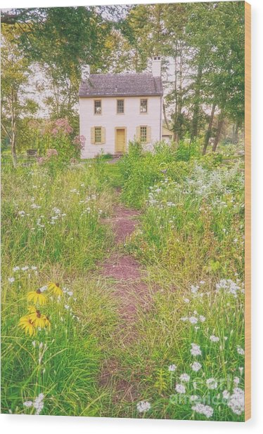 Hibbs House Wood Print