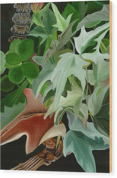 Hide'n Seek IIi Wood Print by Sunhee Kim Jung