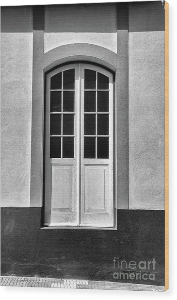 High Door Wood Print