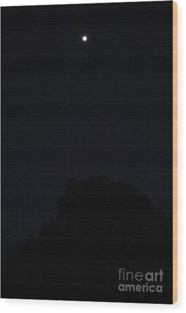 High Sky Wood Print by Maris Salmins