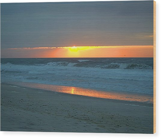 High Sunrise Wood Print
