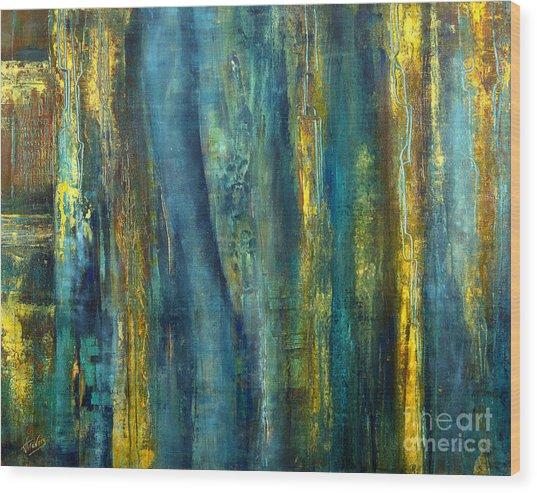 Highland Fling Wood Print