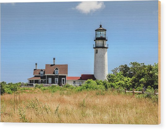 Highland Light - Cape Cod Wood Print