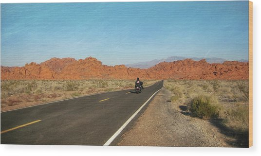 Highway Journey Wood Print by JAMART Photography