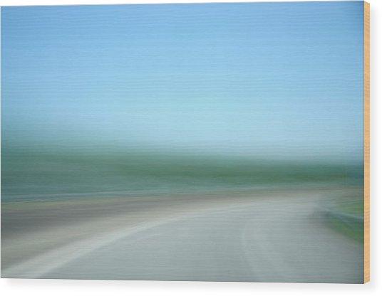 Highway To Heaven Wood Print by Hans Kool