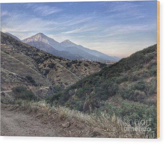 Hiking Johnson's Pasture Wood Print