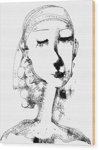 Hilda Wood Print