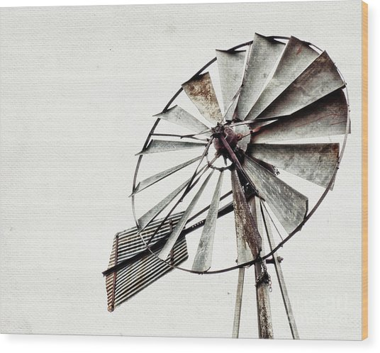 Hilde Ranch Wood Print