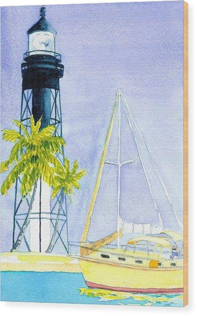 Hillsboro Inlet Wood Print