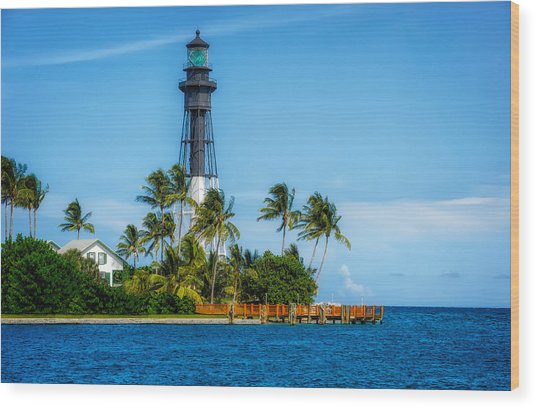 Hillsboro Inlet Lighthouse - 1 Wood Print