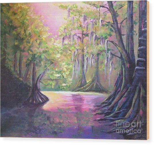 Withlacoochee River Nobleton Florida Wood Print