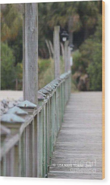 Hilton Beachway Wood Print