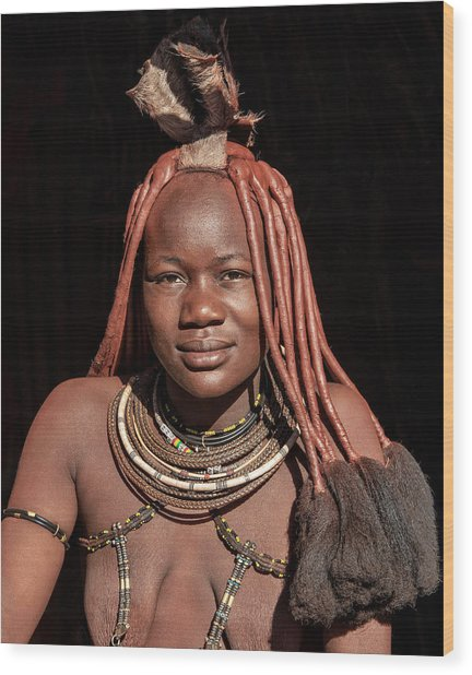 Wood Print featuring the photograph Himba by Rand