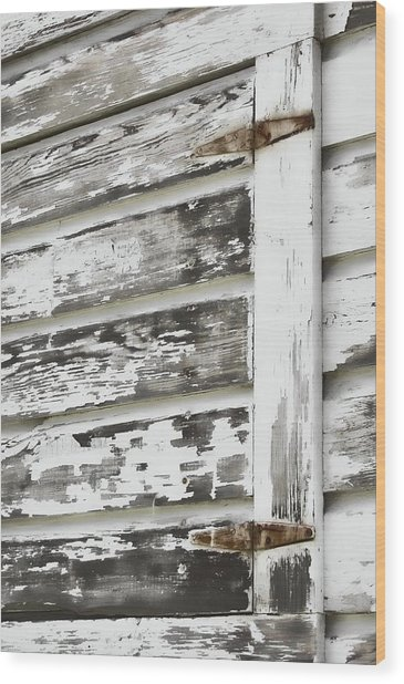Hinges Wood Print by JAMART Photography