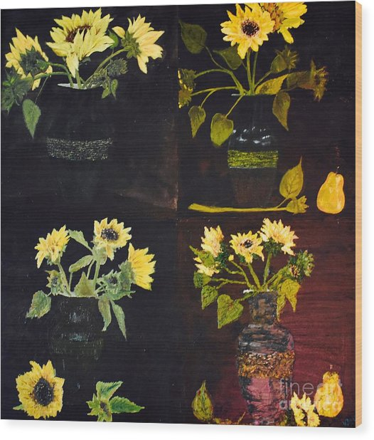 Jirasol Wood Print