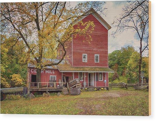 Historic Bowens Mills Wood Print