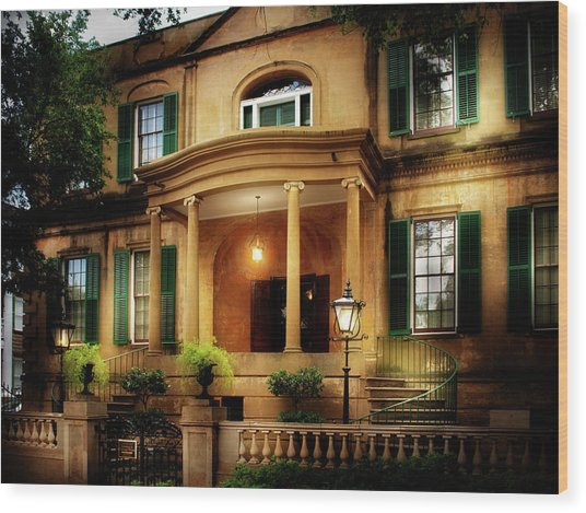 Historic Carriage House Wood Print