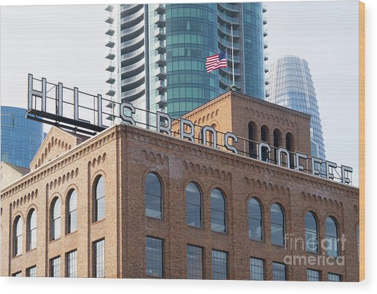 Historic Hills Brothers Coffee Building With Sign San Francisco Dsc5745 Wood Print