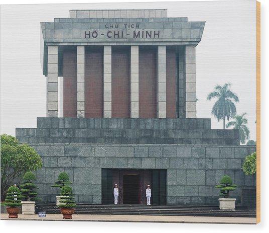 Ho Chi Minh Mausoleum Wood Print