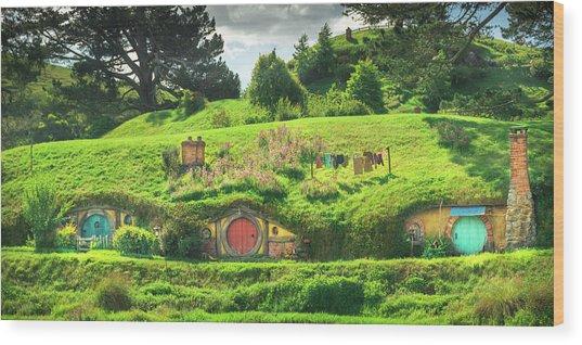 Hobbit Lane Wood Print