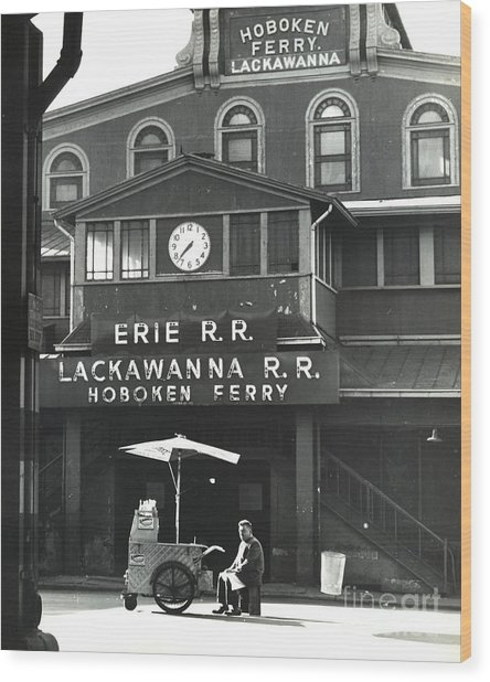 Hoboken Ferry C1966 Wood Print